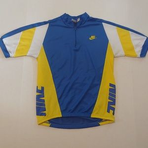 Vintage 90's Nike cycling jersey
